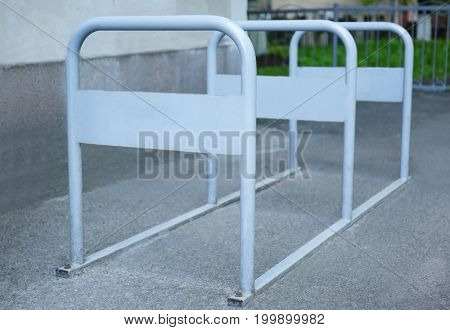 Place for bicycle parking outdoors