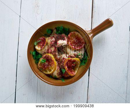 Sumac Chicken .persian Cuisine