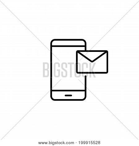 Smartphone Recive Or Send Message