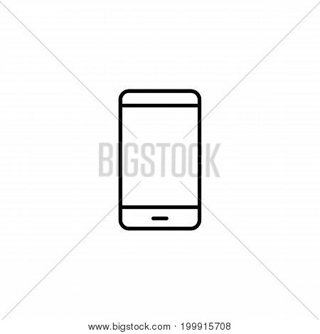 Smartphone Icon, Cellphone Screen Vector
