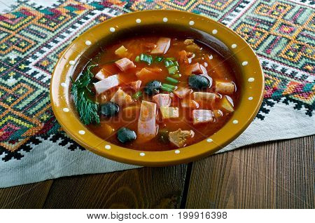 Sour Russian Soup
