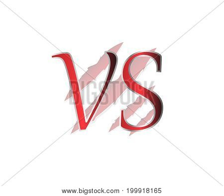 Versus Logo vector illustration. VS logo vector symbol