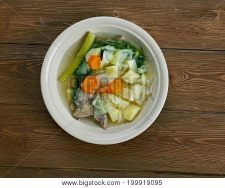 German Soup With Pork Tripe
