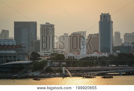Finance District In Singapore