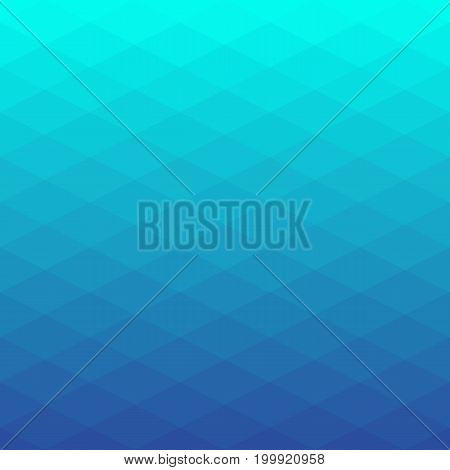 Abstract poligonal background of rhombus. Geometry triangle, mosaic illustration with gradient colors.