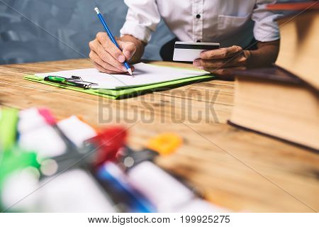 Asian Business Lawyer Planning Strategy Project Resources New Business Startup Concept At Vintage Of