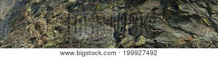 Stone texture. Panorama big size. Altai Mountains