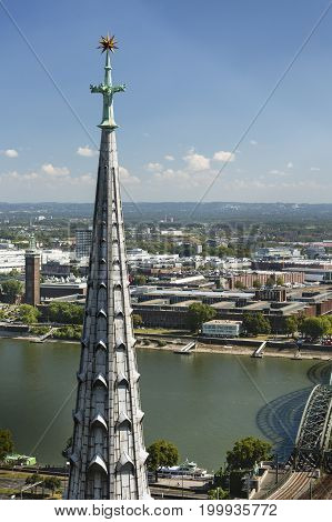 Cologne Cathedral Tower, Germany, Editorial