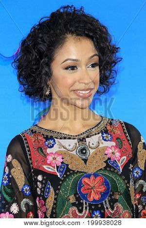 LOS ANGELES - AUG 13:  Liza Koshy at the Teen Choice Awards 2017 at the Galen Center on August 13, 2017 in Los Angeles, CA