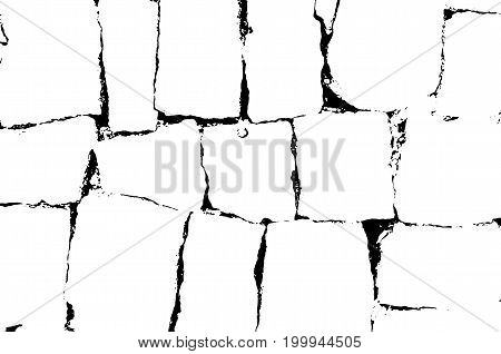 Brick texture. Grunge stone packground. Vector pattern