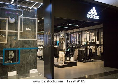 Adidas Shop In Central Festival Chiang Mai.