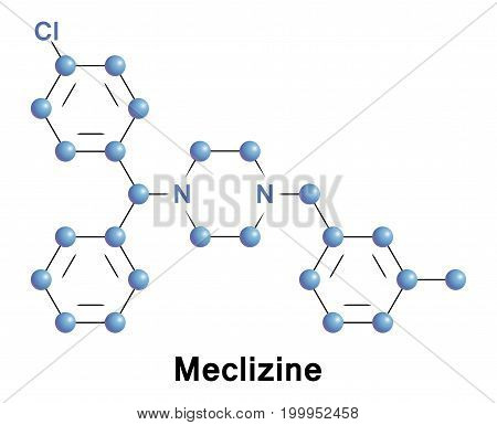Meclizine is an antihistamine considered to be an antiemetic.