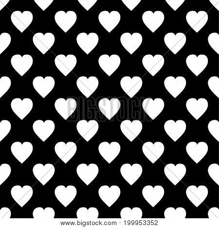 Hearts pattern The background for printing on fabric, textiles, layouts, covers, backdrops, backgrounds and Wallpapers, websites, Vector illustration seamless