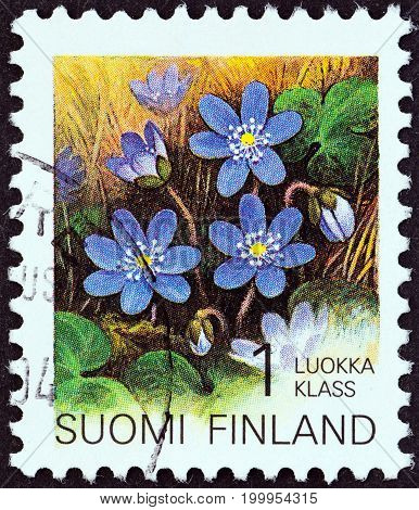FINLAND - CIRCA 1993: A stamp printed in Finland from the