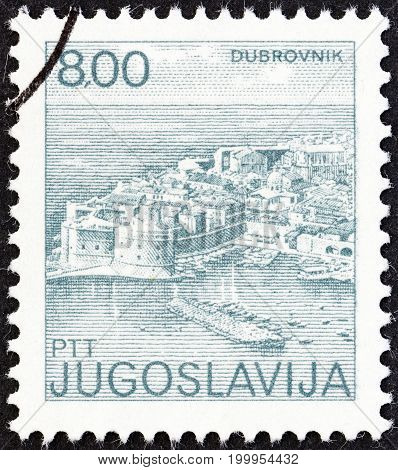 YUGOSLAVIA - CIRCA 1981: A stamp printed in Yugoslavia from the
