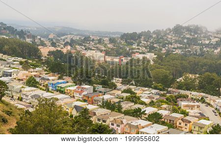 DOWNTOWN SAN FRANCISCO VIEW BY  Twin Peaks