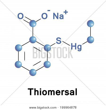 Thiomersal or thimerosal is an organomercury compound. This compound is a well established antiseptic and antifungal agent.