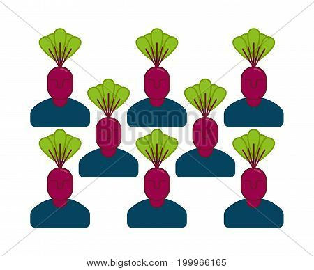 Office Vegetables Garden. Manager Beet . Vegetable Department At Office