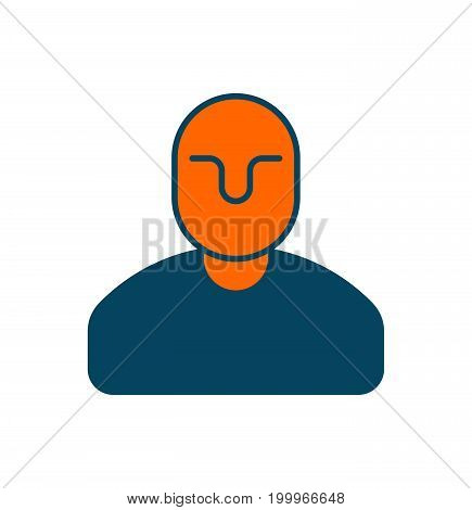 Manager Icon. Office Man Sign. Business Concept Symbol