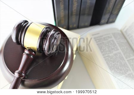 An image of justice - court, law