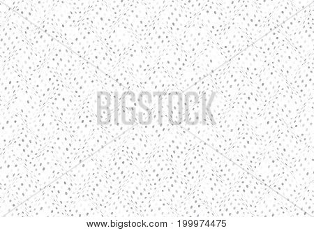 Circles waves abstract background grey white color. Simple abstract illustration for wallpaper.