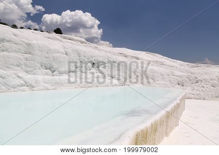 Travertines In Pamukkale