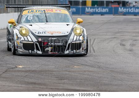 2017 Indycar Series Race In Toronto