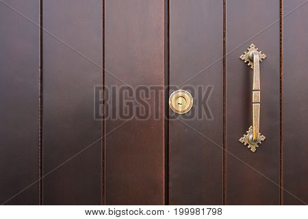 Old door texture or background. Copy space for text