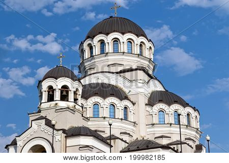 Temple Not Made By Hands Image Of Christ The Savior In Adler