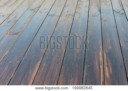 vintage texture from dark wooden boards in row