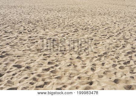 sand on the beach as background or texture