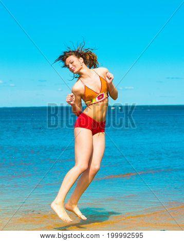 Under Sun Funny Girl