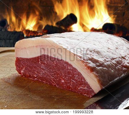 Raw picanha