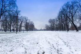 Hyde Park im Winter