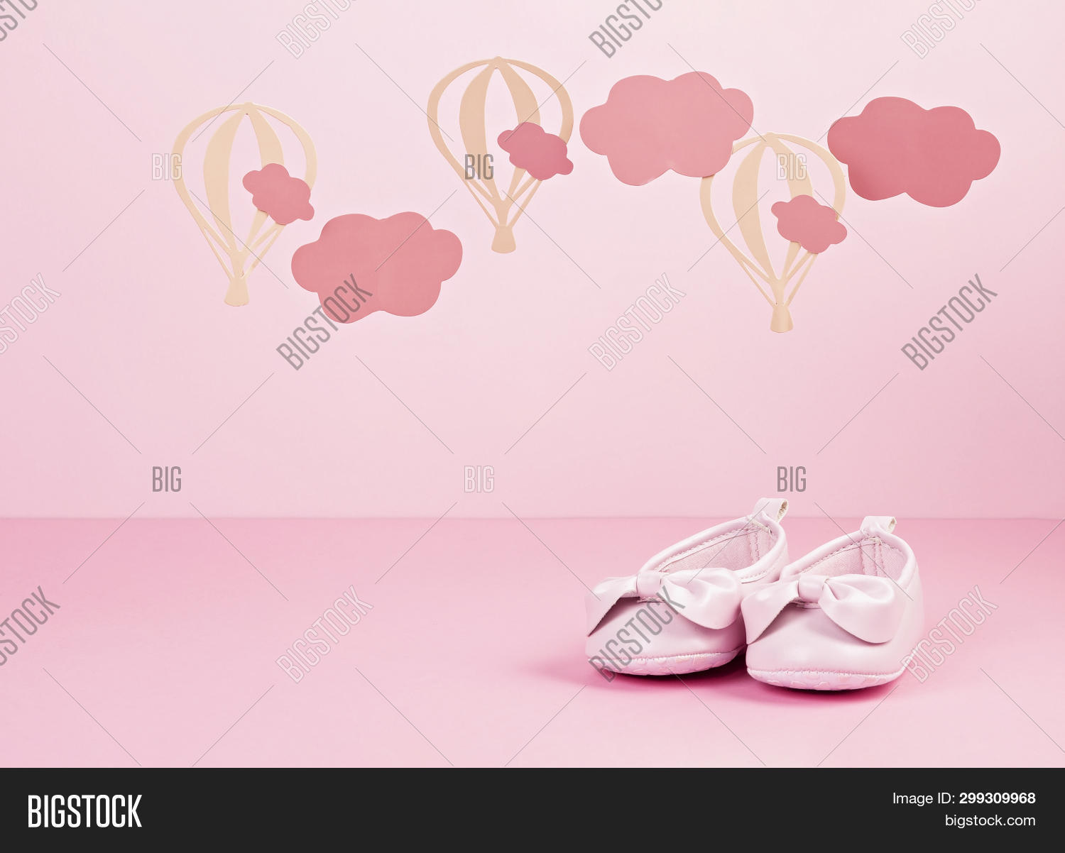 Baby Girl Cute Pink Image Photo Free Trial Bigstock
