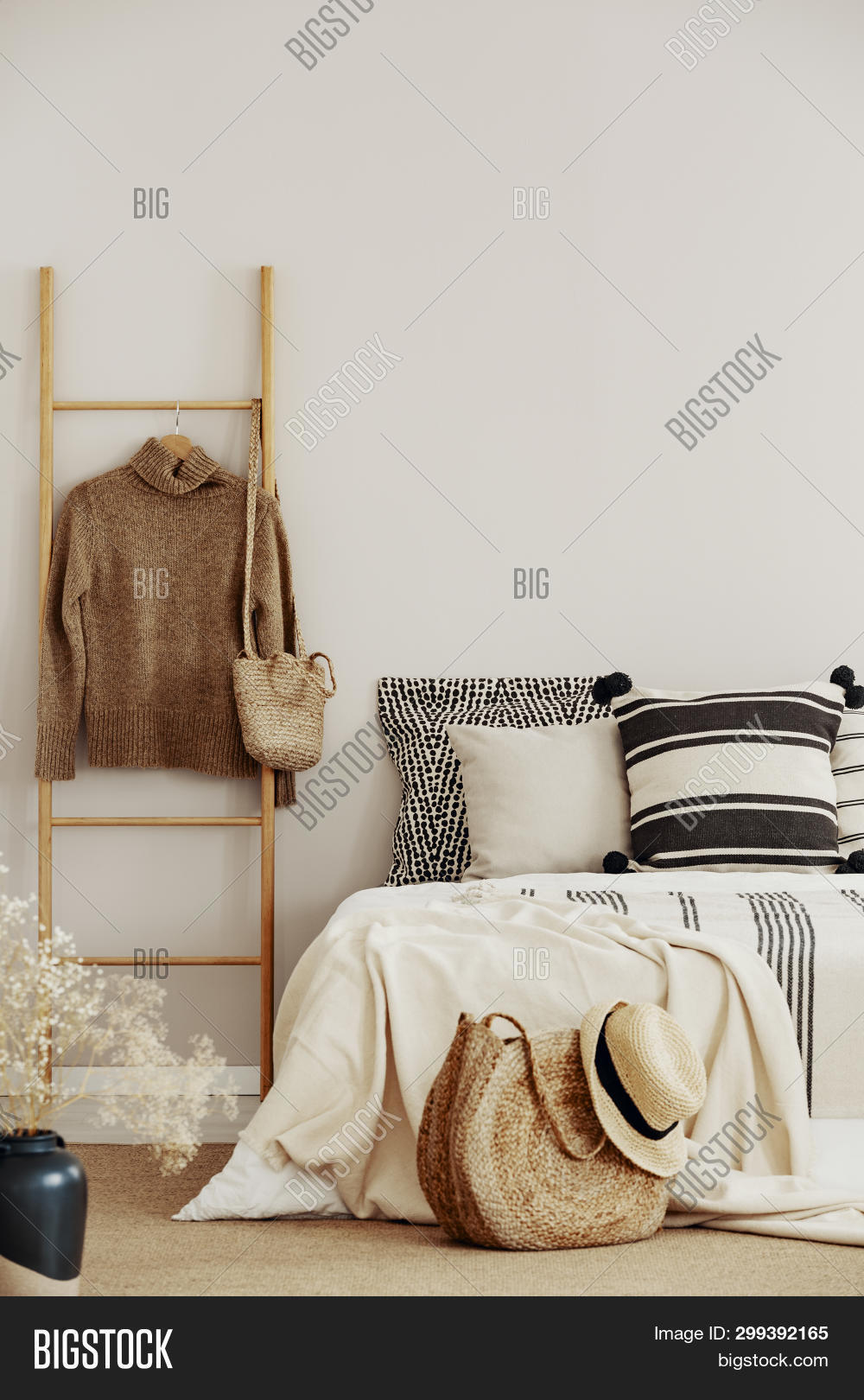 Wooden Ladder Sweater Image Photo Free Trial Bigstock