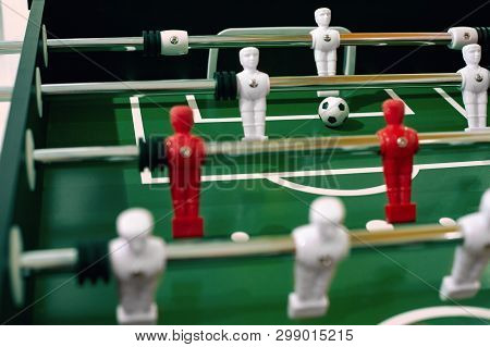 Foosball Table Soccer Image Photo Free Trial Bigstock