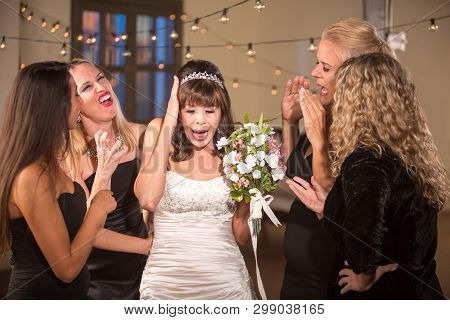 Pretty Mature Bride Not Listening To Meddling Frineds