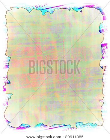 colored manuscript background