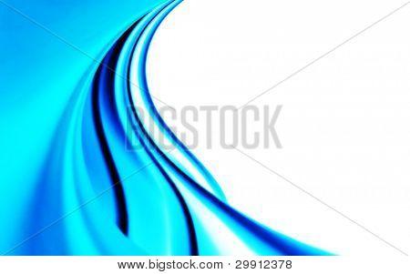 blue curves design