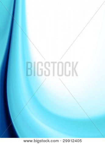 blue color cascade