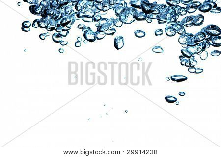 isolated water bubbles; water series C