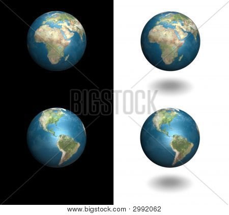Earth In 3D