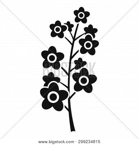 Rape Plant Icon. Simple Illustration Of Rape Plant Vector Icon For Web Design Isolated On White Back