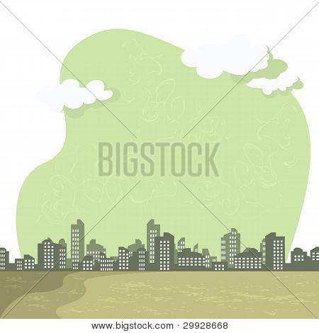Smog On City