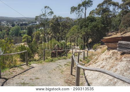 A Path To The Sovereign Hill. Australia