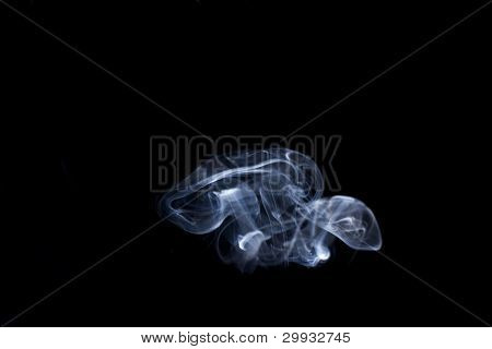 abstract smoke mushrooms