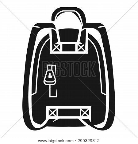 Knapsack Icon. Simple Illustration Of Knapsack Icon For Web Design Isolated On White Background
