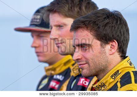 Team Lotus Renault F1, 2012