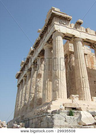 The Parthenon in Acropolis, Athens, Greece